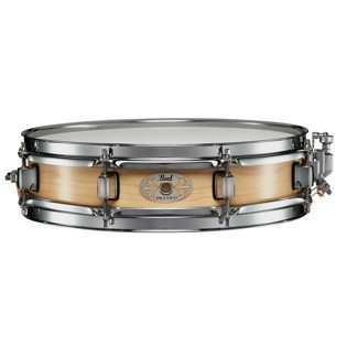 pearl maple piccolo snare drum natural finish - 13x3