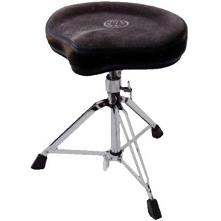 roc n soc drum throne - manual spindle - black (ms-o-k)