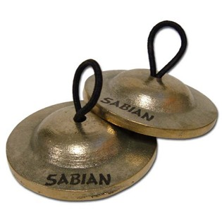 sabian finger cymbals - heavy pair