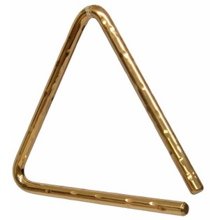 "sabian 06"" hand hammered triangle"