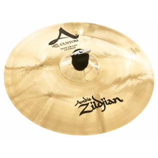 "zildjian 14"" a custom fast crash cymbal"