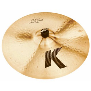 "zildjian 18"" k custom dark crash cymbal"