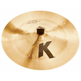 "zildjian 17"" k custom dark china cymbal"