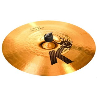 "zildjian 17"" k custom hybrid crash cymbal"