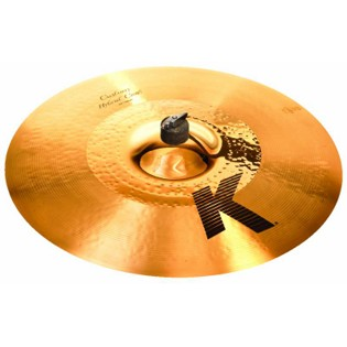 "zildjian 19"" k custom hybrid crash cymbal"