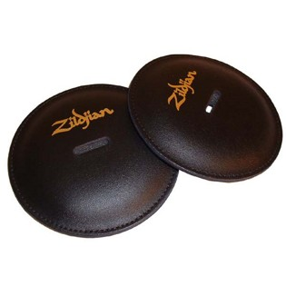 zildjian cymbal pads - leather (pair)