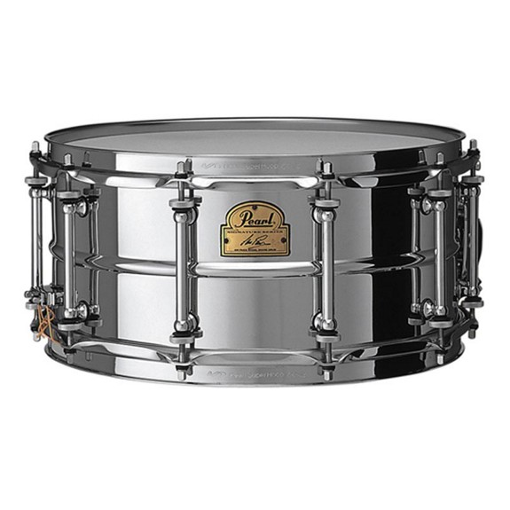 pearl ip1465 signature ian paice snare drum metal snare drums snare drums steve weiss music. Black Bedroom Furniture Sets. Home Design Ideas