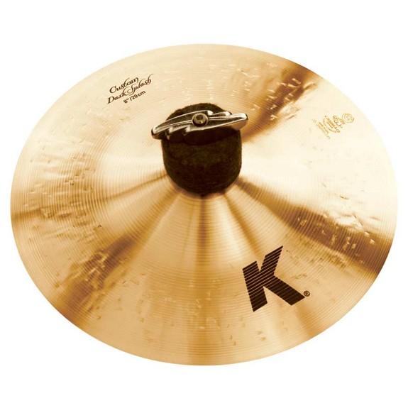 zildjian 8 k custom dark splash cymbal splash cymbals cymbals gongs steve weiss music. Black Bedroom Furniture Sets. Home Design Ideas