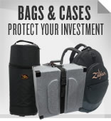 Drum Bags and Cases.