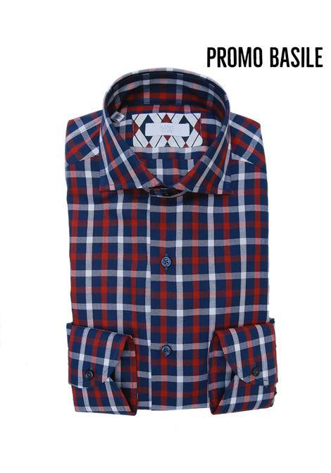 Camicia manica lunga slim fitt BASILE | 10000008 | 0715G3196604