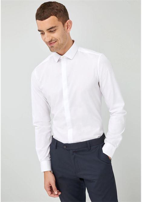 Camicia slim fit manica lunga cerimonia INGRAM | 10000008 | 5F174 XT101