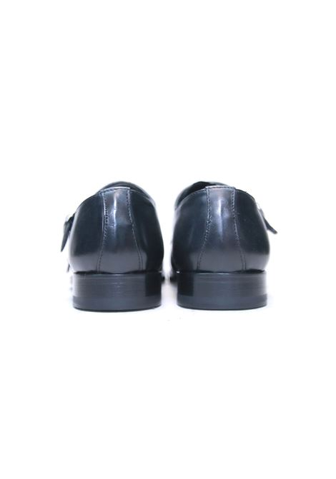 Scarpe doppia fibbia GARBO NAPOLI | 921336138 | 103NERO