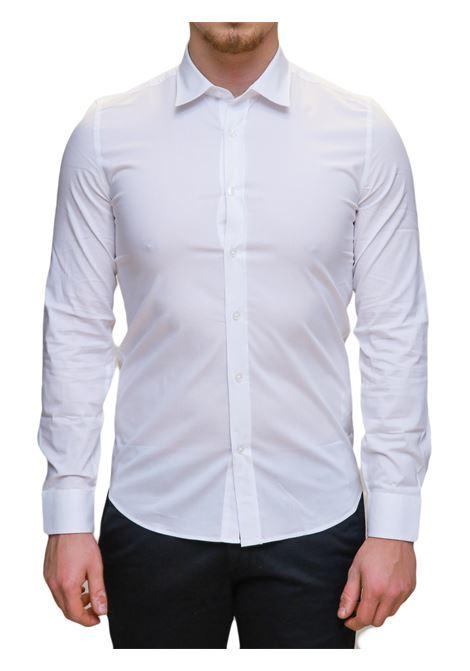 Camicia manica lunga slim fit MARKUP | 10000008 | MK79440BIANCO