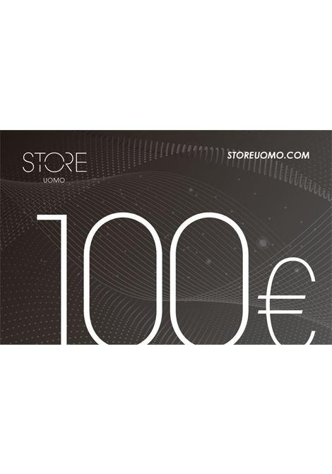 Gift Card STORE UOMO | 10000006 | GIFT CARD 100NERO