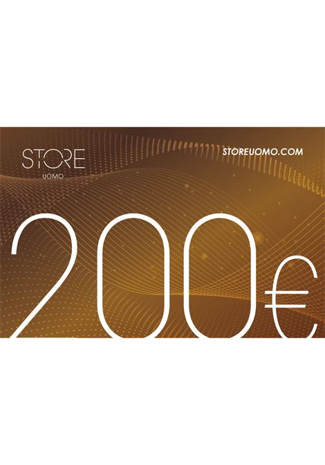 Gift Card STORE UOMO | 10000007 | GIFT CARD 200BRONZO
