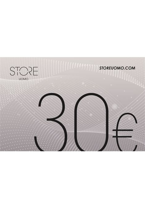 Gift Card STORE UOMO | 10000004 | GIFT CARD 30ARGENTO