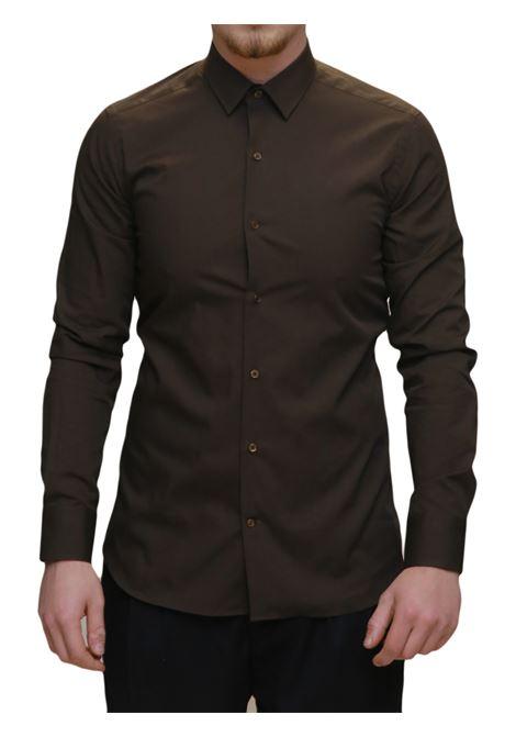 Camicia manica lunga slim fit AVANGUARDIA STILISTICA | 10000008 | 501G320308