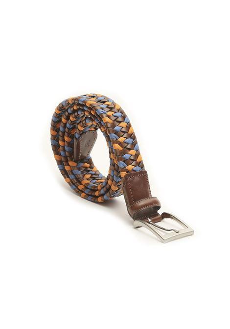 Cintura intrecciata in corda e pelle AVANGUARDIA STILISTICA | 22 | 5H5T18ARANCIO