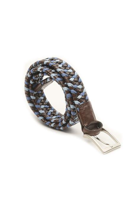 Cintura intrecciata in corda e pelle AVANGUARDIA STILISTICA | 22 | 5H5T18MORO