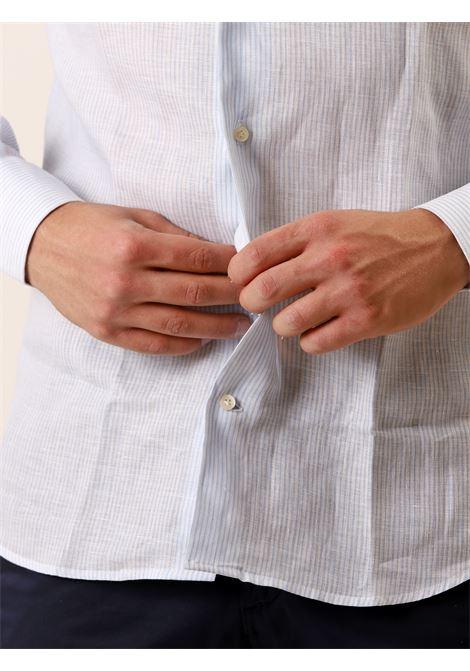 Camicia manica lunga slim fit AVANGUARDIA STILISTICA | 10000008 | OSTUNI C939 BASTONCINO100A001