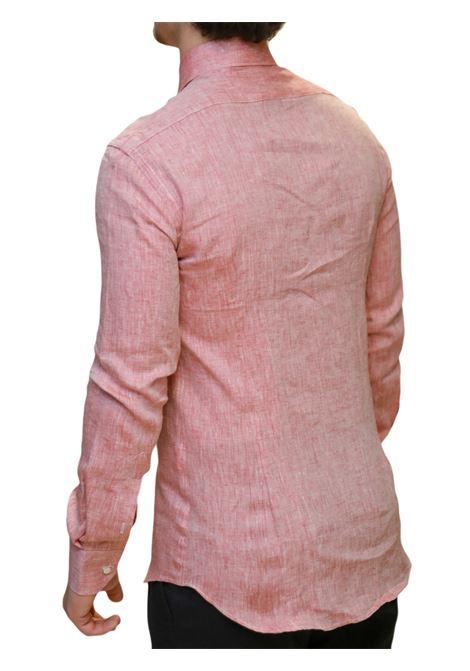 Camicia manica lunga slim fit AVANGUARDIA STILISTICA | 10000008 | OSTUNI100BR28