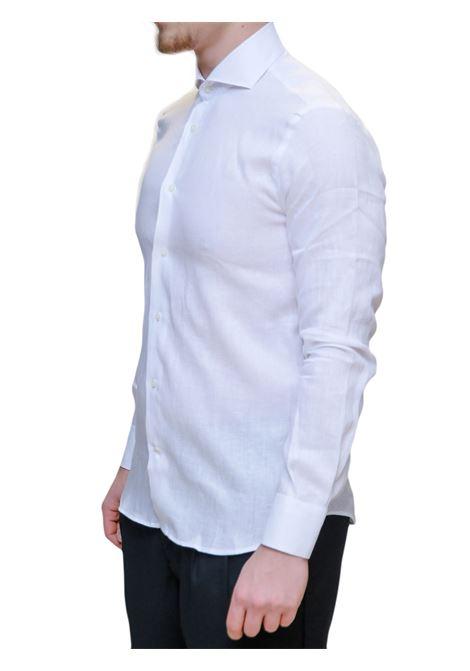 Camicia manica lunga slim fit AVANGUARDIA STILISTICA | 10000008 | OSTUNI100W001
