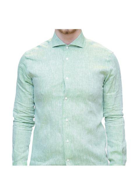 Camicia manica lunga slim fit AVANGUARDIA STILISTICA | 10000008 | OSTUNI100W014