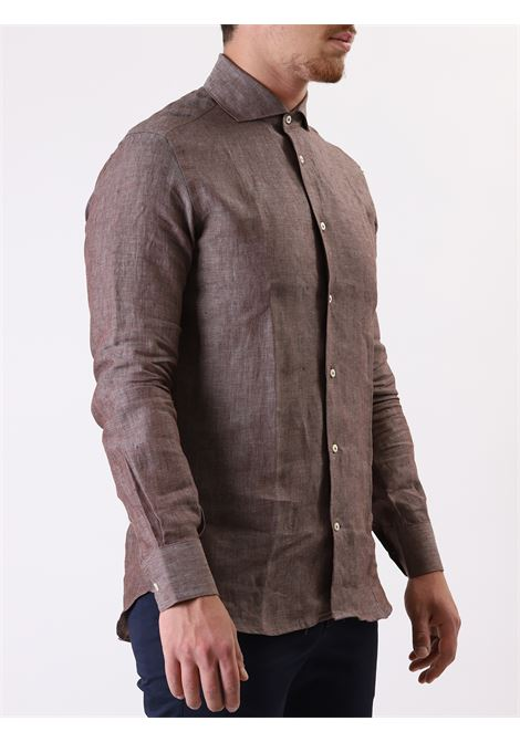 Camicia manica lunga slim fit AVANGUARDIA STILISTICA | 10000008 | OSTUNI79042