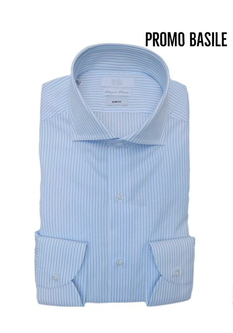 Camicia manica lunga business slim fit BASILE | 10000008 | 0622G3196401