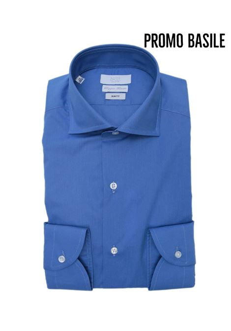 Camicia manica lunga business slim  fit BASILE | 10000008 | 0656G3196201