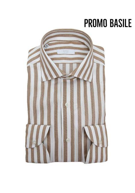 Camicia manica lunga  regular fit BASILE | 5032236 | 0691T60408