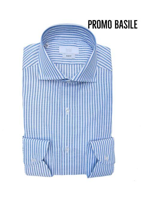 Camicia manica lunga business slim fit BASILE | 10000008 | 0725G3196 SL401