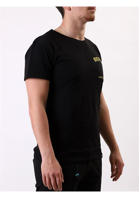 T-shirt mezza manica BERNA | 8 | 190417NERO