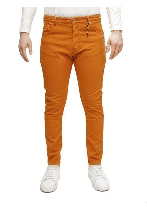Jeans bull denim cropped BERNA | 9 | BRNM190360ARANCIO