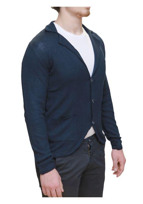 Cardigan taglio giacca maglia BESILENT | 39 | BSBZ0006BLU