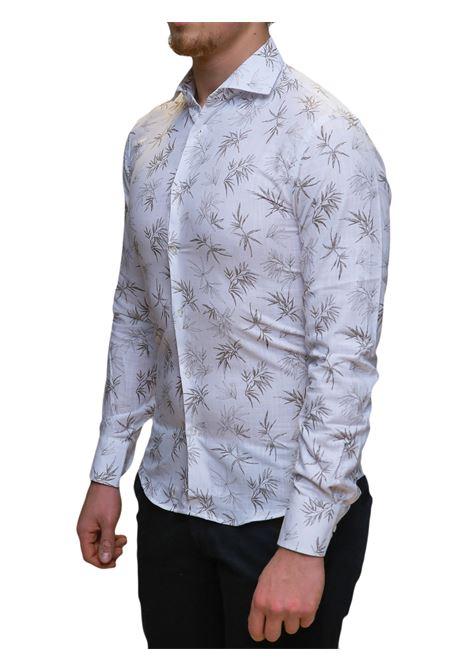Camicia manica lunga slim fit BESILENT | 10000008 | BSCA0205CAFFE