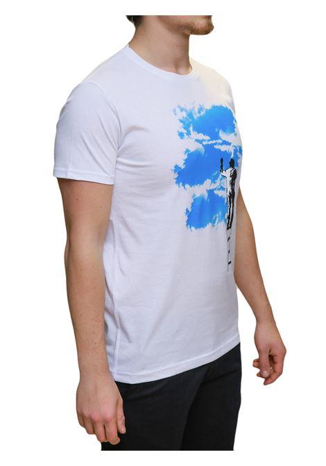 T-shirt mezza manica BESILENT | 8 | BSMA0388BIANCO