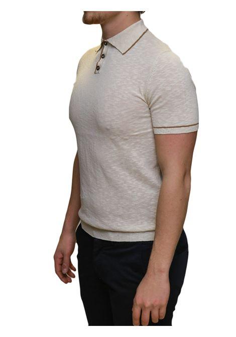 Polo mezza manica BESILENT | 5032235 | BSMA0396BEIGE