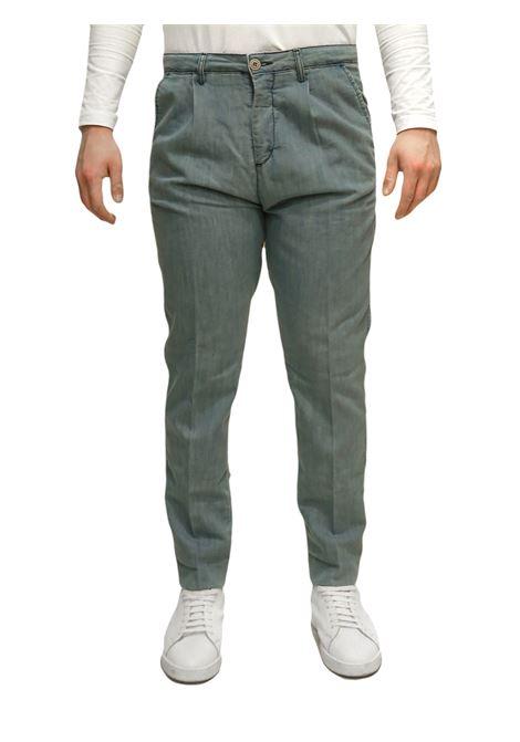 Pantaloni chino tasca america BESILENT | 9 | BSPA0390AZZURRO