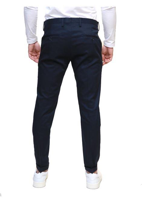Pantaloni chino tasca america DI BIASI | 9 | BUSTO NORMALEBLU NOTTE
