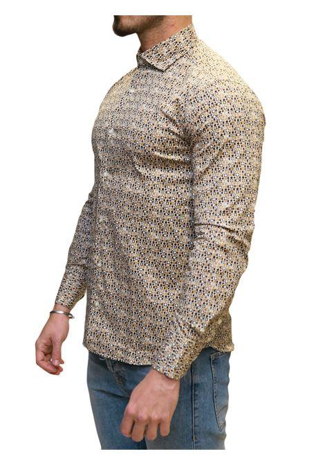 Camicia manica lunga  regular fit DI BIASI | 5032236 | DISEGNO 1010