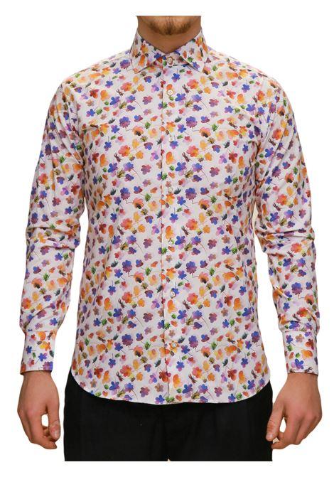 Camicia manica lunga  regular fit DI BIASI | 5032236 | DISEGNO 55