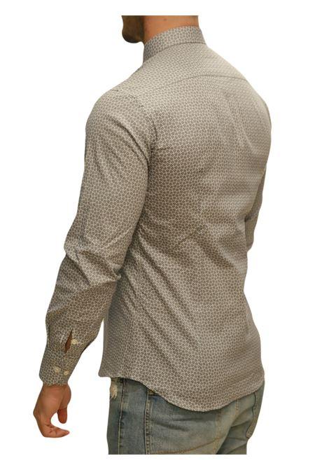 Camicia manica lunga regular fit DI BIASI | 5032236 | DISEGNO 99