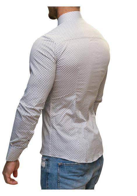 Camicia manica lunga slim fit DI BIASI | 10000008 | SLIM 33