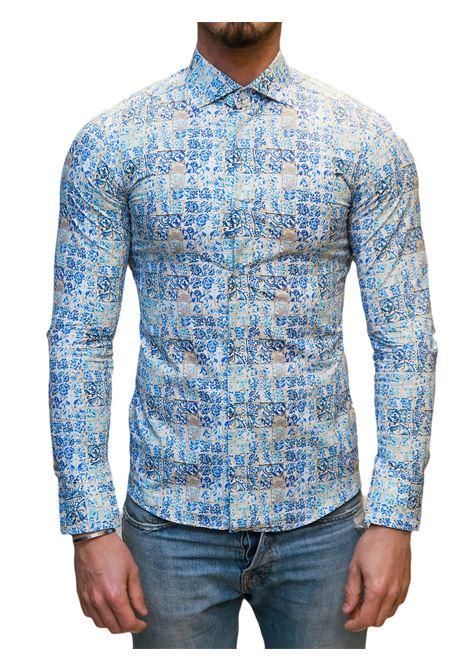 Camicia manica lunga slim fit DI BIASI | 10000008 | SLIM 55