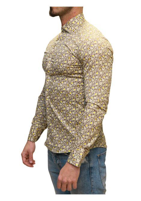 Camicia manica lunga slim fit DI BIASI | 10000008 | SLIM 77