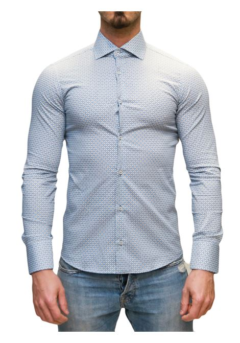 Camicia manica lunga slim fit DI BIASI | 10000008 | SLIM 99