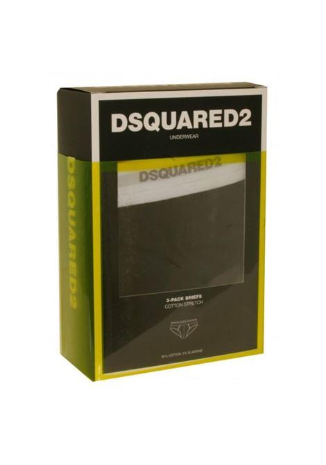 Slip tri pack underwear DSQUARED 2 | 5032289 | DCX610040001