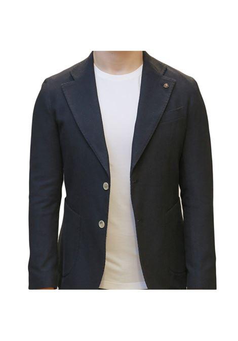 Giacca mono petto decostruita EDITORIAL CLOTHING | 3 | GC100NAVY