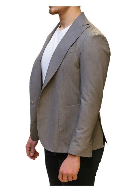 Giacca mono petto decostruita EDITORIAL CLOTHING | 3 | GC101 UNITAGRIGIO CHIARO